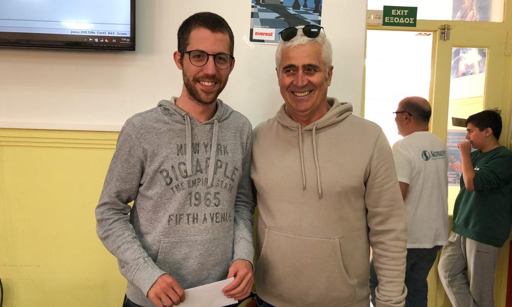 bac717e9980 Ο Γιώργος Μυλωνάκης είναι ο νικητής στο σκακιστικό τουρνουά Ράπιντ που  διοργάνωσε ο Ομιλος Αντισφαίρισης Χανίων το τριήμερο από Πέμπτη έως Σάββατο  (12 – 14 ...